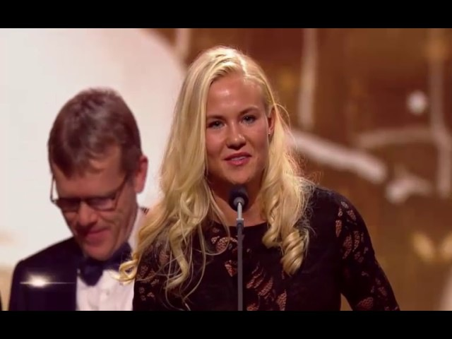 Pernille Harder датская футболистка года 2016 благодарственная речь