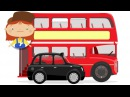 Car doctor McWheelie in London Cartoon for kids with cars