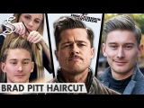 Brad Pitt Hairstyle ★ Inglourious Basterds Lt. Aldo Raine ★ Mens Hair