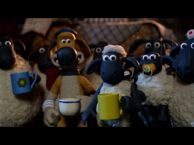 Барашек Шон серия 43 - Бессонная ночь / Shaun the Sheep - Sheepless Nights (HD)