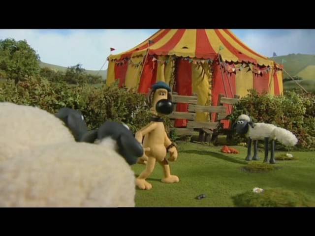 Барашек Шон S1E4 Приключения Тимми Shaun the Sheep Big Top Timmy