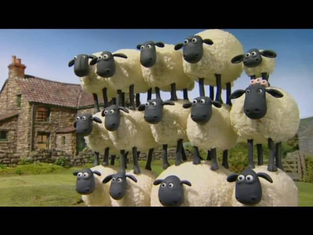 Барашек Шон S1E19 - Шон стрелял в барана / Shaun the Sheep - Shaun Shoots The Sheep