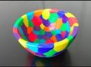 Tuto fimo le bol multicolore