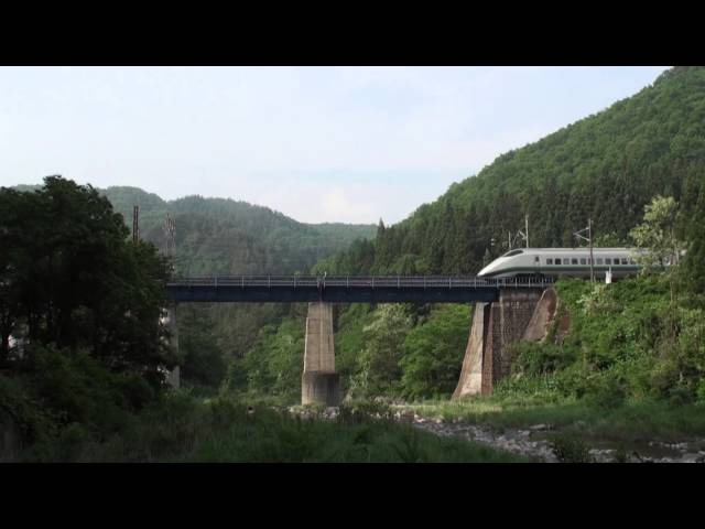 山形新幹線 E3系つばさ PV- 初夏バージョン2014☆