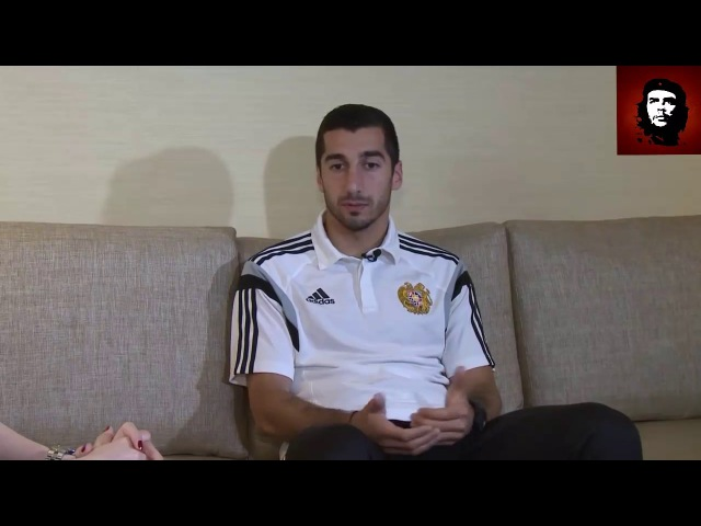 Генрих Мхитарян интервю в Лос Анджелесе-Henrikh Mkhitaryan interview