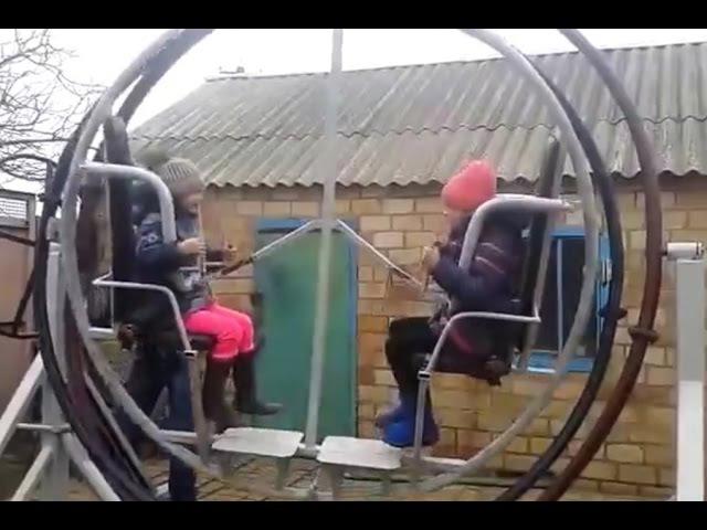 Аттракцион гироскоп своими руками
