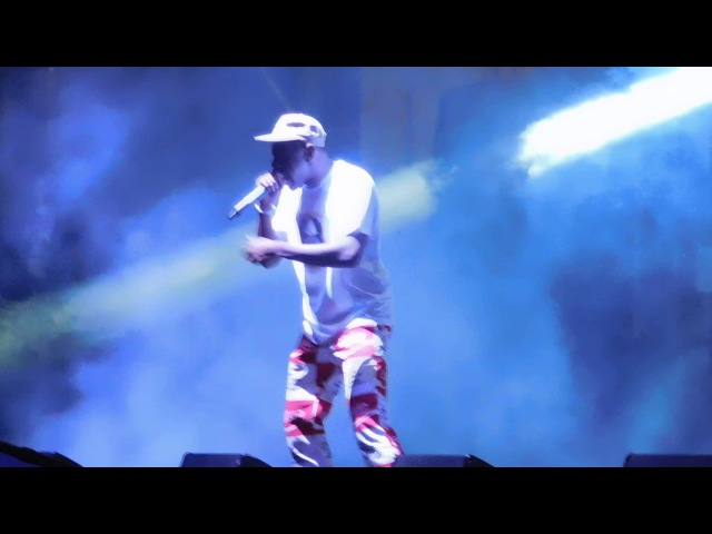 Tyler, the Creator forgets verse and freestyles at Camp Flog Gnaw 2016! RARE!!
