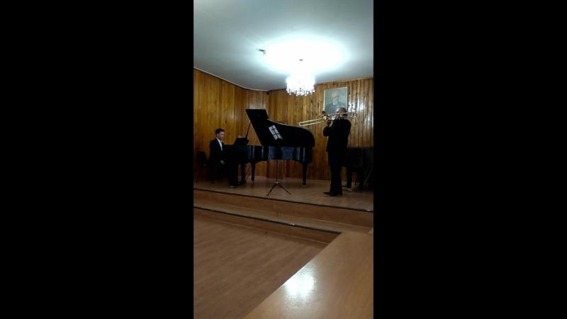 А.Гильман, симфоническая пьеса.
