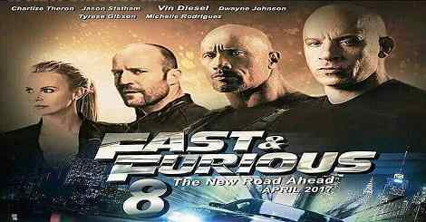 Fast And Furious 8 in Hindi Dubbed Torrent