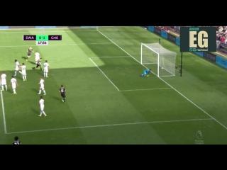 Суонси - Челси - 0:1 Коста 18'