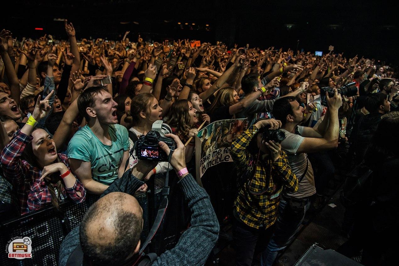 Концерт Skillet в Москве: репортаж, фото Екатерина Шуть