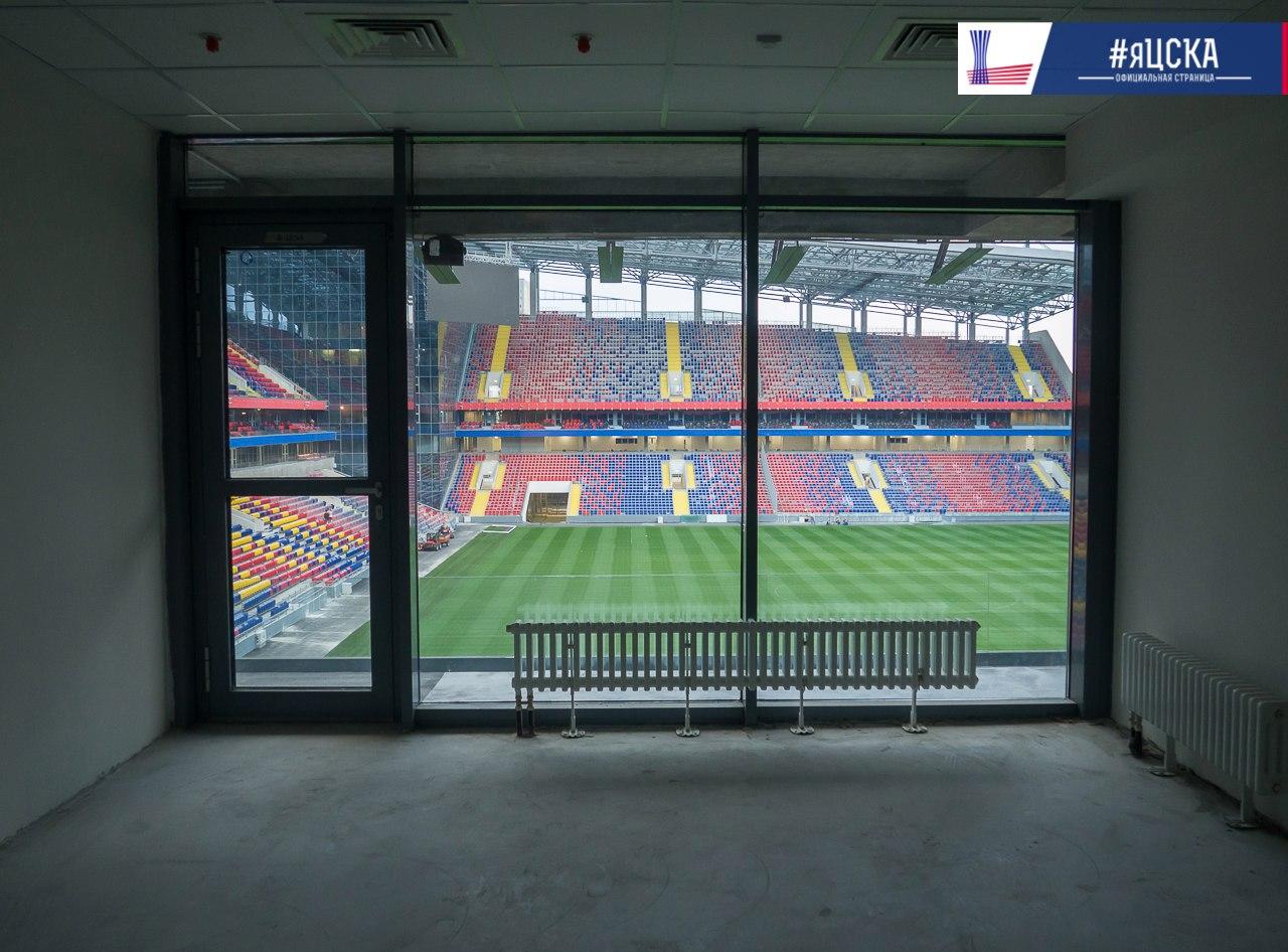 скайбокс на стадионе цска фото крепятся длинным