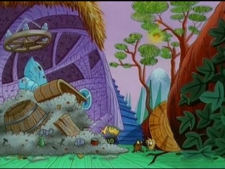 Крутые бобры/Angry Beavers - Серия 73 (Как бобры впали в детство/Act Your Age)