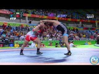 РИО-2016 97 кг квалификация Реза Яздани (Иран) - Ибрахим Болукбаши (Турция)