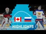 Полуфинал ЧМ-2017. Канада - Россия - 4:2