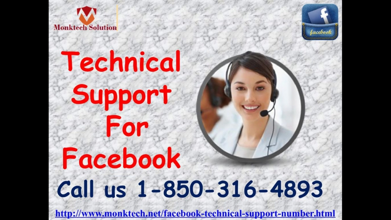Can I get Technical Support For Facebook 1-850-316-4893?