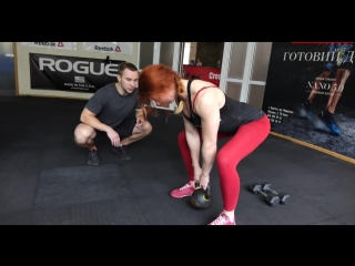 Базовые упражнения для новичков в кроссфите