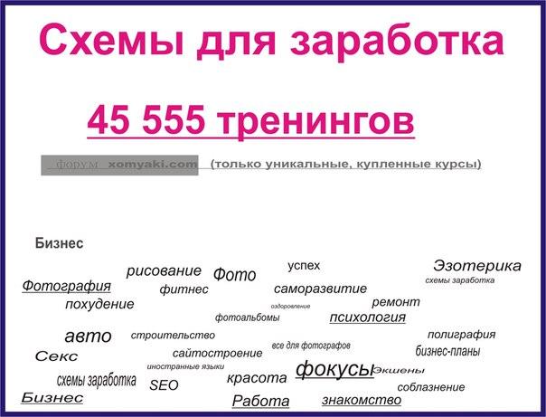 Эксклюзивные тренинги бизнес психология, пикап, фитнес 42000 шт. самых