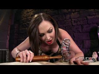 Yasmin scott - caged erection