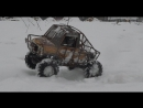 Luaz 4x4 rc scale winter edition