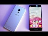 Бой Тяжеловесов Meizu PRO 6 VS Xiaomi Mi 5  Ультра-Полный Обзор Мегареального Пользователя!