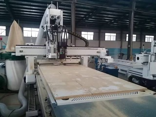 cnc cutting & drilling machine for panel furniture cabinet making