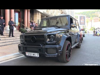 700HP  Brabus B70  Mercedes G63 AMG in Monaco   EPIC SOUND! ,test drive,sport cars 2016, cars,