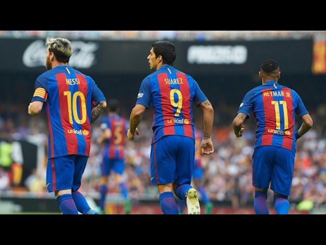 Messi Neymar Suarez - Unstoppable Trio - 2016/17 || HD