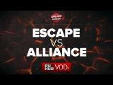 Escape vs  Alliance , DreamLeague Season 6, game 1 [Faker, v1lat]