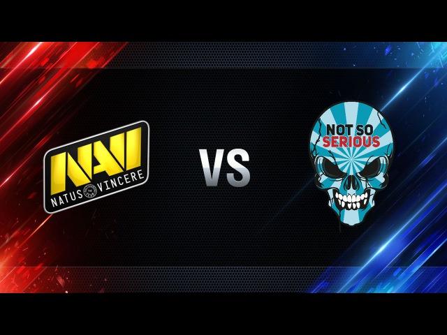 Natus Vincere vs Not So Serious - day 2 week 4 Season I Gold Series WGL RU 2016/17