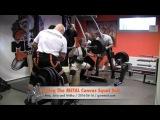 Testing the METAL Canvas squat suit with Julia Vins