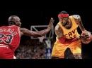 Michael Jordan vs LeBron James 1on1 - NBA 2K16