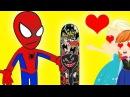 Человек-паук и Эльза на СКЕЙТ-ПАРКЕ ● ПРИКОЛЫ СупергероЕВ в реальной жизни!