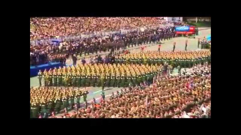 Desfile de la Victoria 2015 - Plaza Roja (ESP)