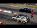 VW Golf Mk3 R32 Turbo 4motion 1200 HP Spb vs. Nissan GTR VTG Speeddays / King of Germany 2014