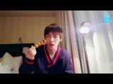 ENG+INDO+JAP+POR+SUB BTS  V (Taehyung) Singing &amp Eating