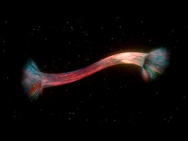 Чёрные и белые космические дыры д.ф. Мост Эйнштейна - Розена. Космические червоточины.