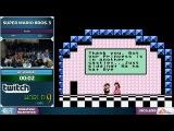 Super Mario Bros. 3 Any% TAS in 0:02 - SGDQ 2016