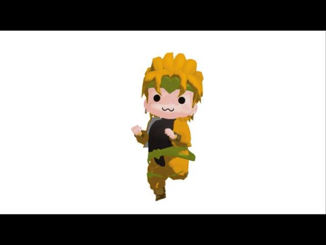 【Jojo's MMD Adventure】Tik Tok【Chibi Dio】