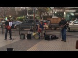 Street artists - Paranoid (Black Sabbath cover)