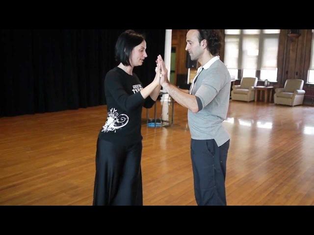 Dartmouth Tango Workshop with Fernanda Guillermo: Compression Expansion, Ochos, Giros, Sacadas