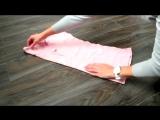 КАК СЛОЖИТЬ ОДЕЖДУ. Метод #КонМари. МИНИМАЛИЗМ - How to Fold Clothes #KonMari #minimalism