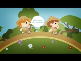 Were Going on a Lion Hunt Song - Kids Song - Camp Song - Animal Song - The Kiboomers