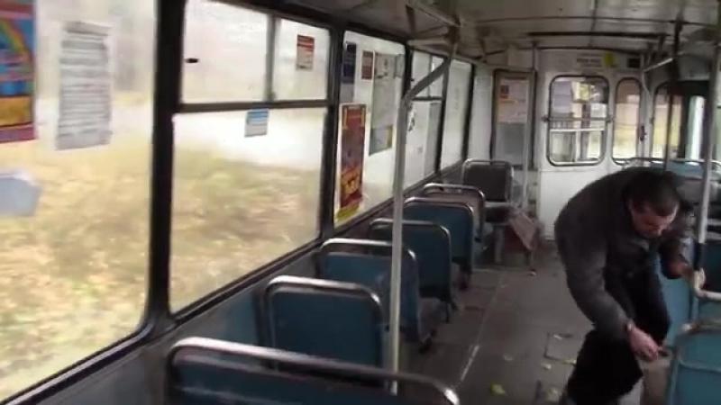 Сочлененый троллейбус ЗИУ 683 г Тольятти