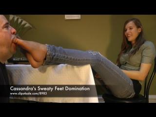 Cassandra's Sweaty Feet Domination - (Dreamgirls in Socks)