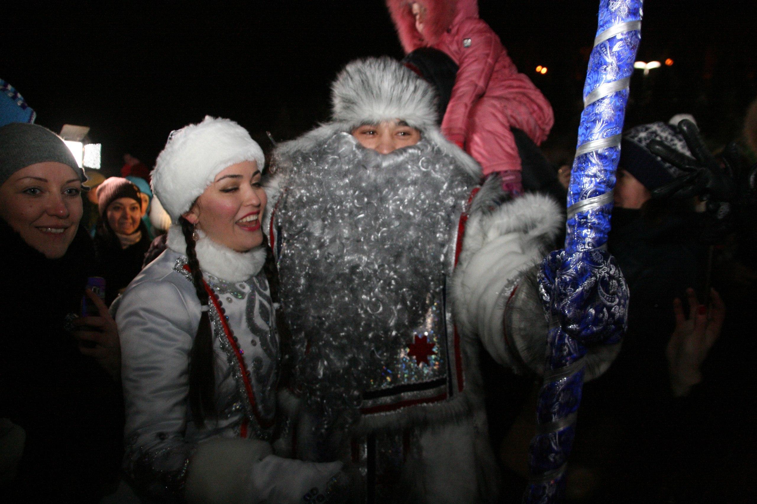 Башкирский Дед Мороз