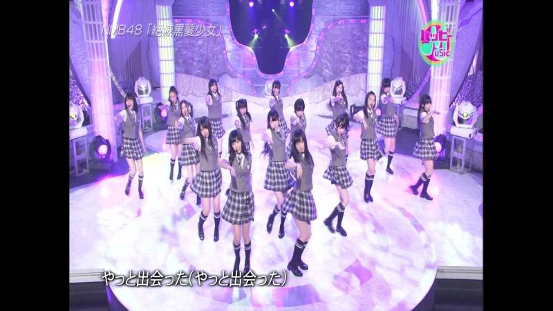 NMB48 - Talk Zetsumetsu Kurokami Shoujo (110722 Happy Music)