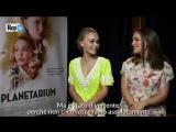 Интервью Натали Портман и Лили-Роуз Депп