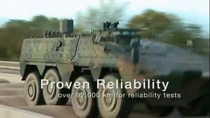 Krauss-Maffei Wegmann (KMW) и Rheinmetall Defence - Boxer Бронетранспортер (APC)