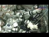 """Старт """"Союз МС-04"""" к МКС с двумя космонавтами и плюшевой собачкой"""